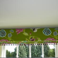 Roman Blind With Trim
