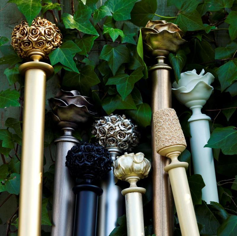 Decorative Poles And Finials