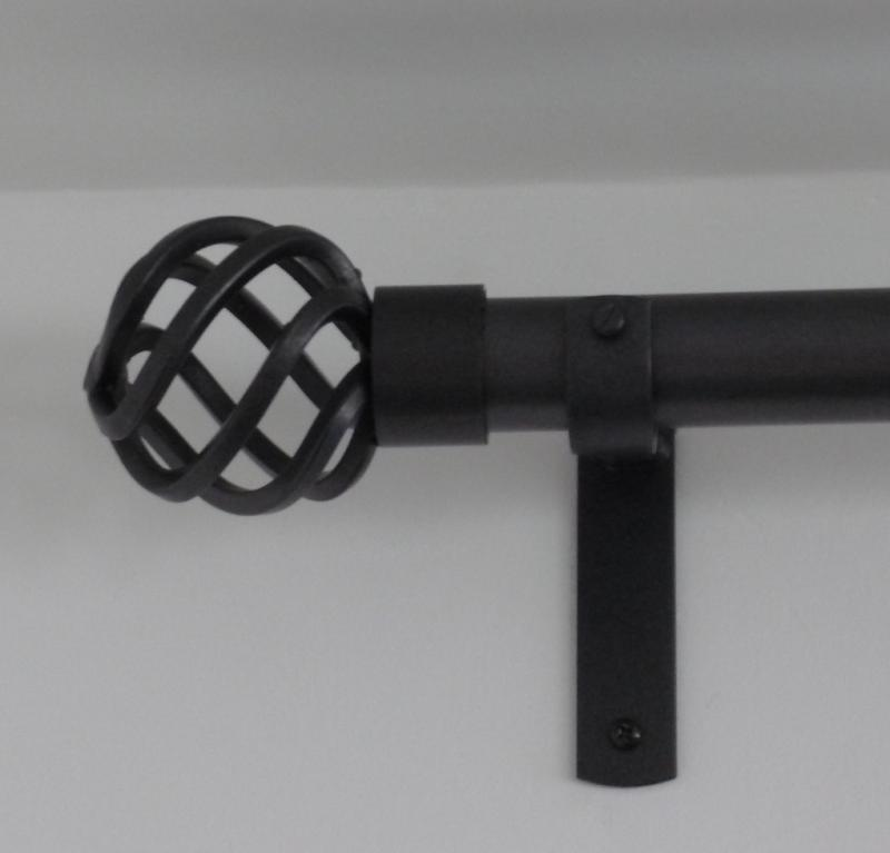 Wrought Iron Pole