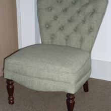Small Button Back Chair