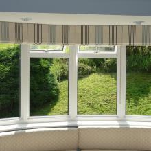 Roman Blinds In A Bay Window